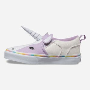 VANS Asher Unicorn Slip-On Girls Shoes